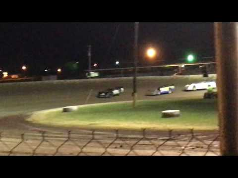 Greenville Speedway Jamie Rochell R1 feature 3/3