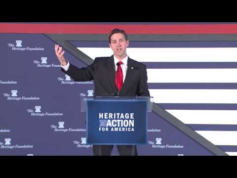 Sen. Ben Sasse on the Heart of America and Its Founders | The Heritage Foundation