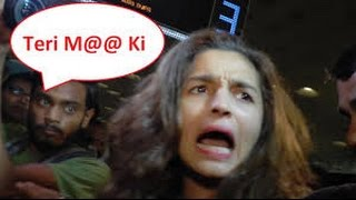 Alia Bhatt Angry on Media - Sanjay Dutt request...