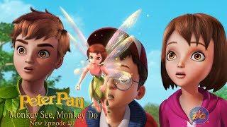 Peterpan Season 2 Episode 20 monkey see monkey do | Cartoon |  Video | Online