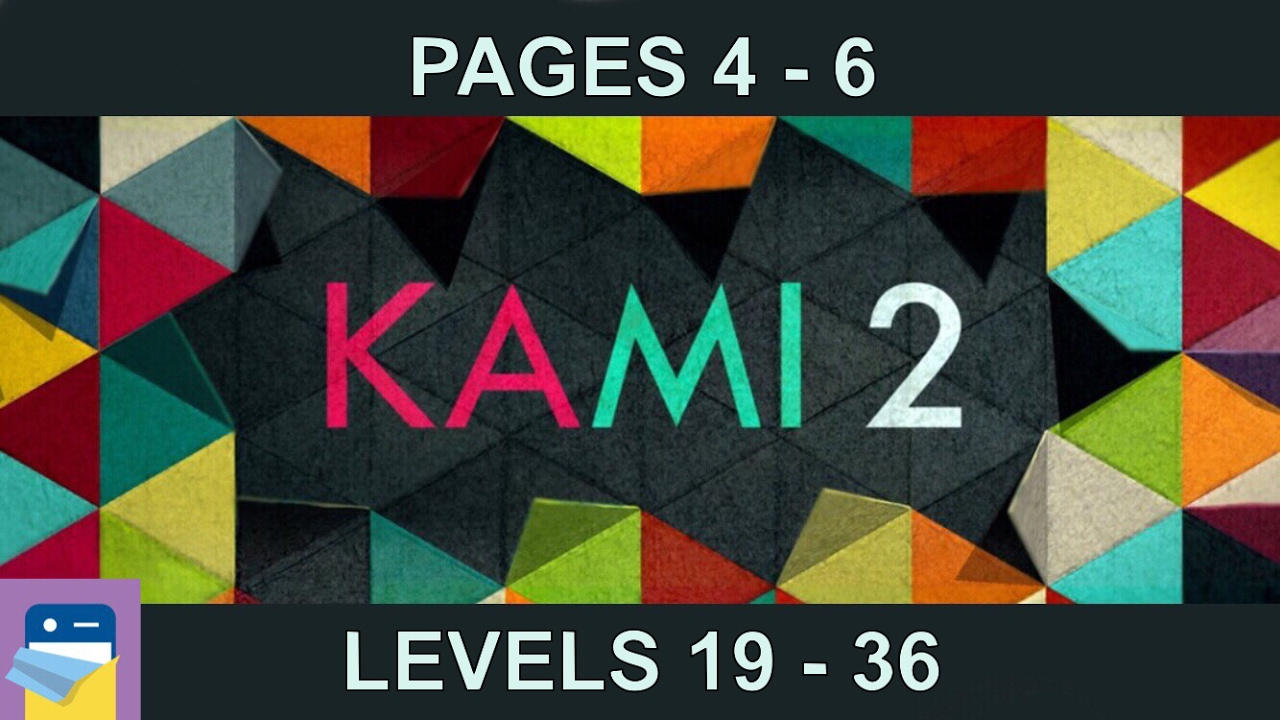 KAMI 2: Journey Pages 4 5 6 (Levels 19 - 36) Walkthrough & Solutions (by  State of Play)