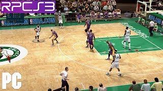 PS3 NBA Live 09 on PC HD 60fps RPCS3 Emulator (09 demo)