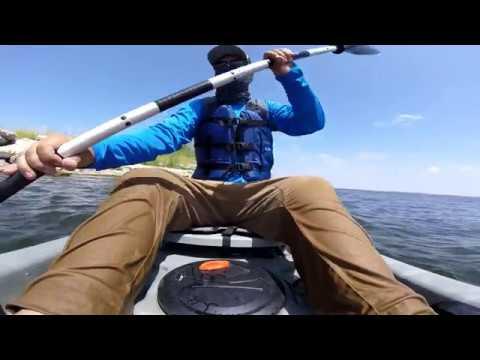 Pesca en Kayak Presa Sugar Lake (GoPro Session 4)