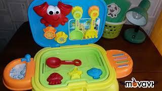 """Игрушки от Baby Go. Обзор на игровой набор """"Песочница"""" и каталки."""