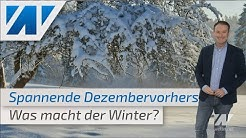 Sibirische Kältepeitsche oder mildes Schmuddelwetter: Das Wetter im Dezember 2019!