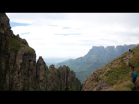 28 7522°S 28 8941°E     Tugela Falls, South Africa
