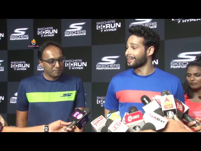 THE LAUNCH OF NEW SKECHERS SHOES BY SIDDHANT CHATURVEDIpart