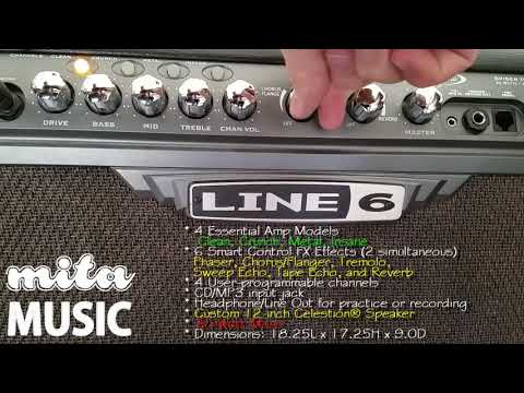 Line 6 Spider III 30 guitar amp Sound check with Telecaster