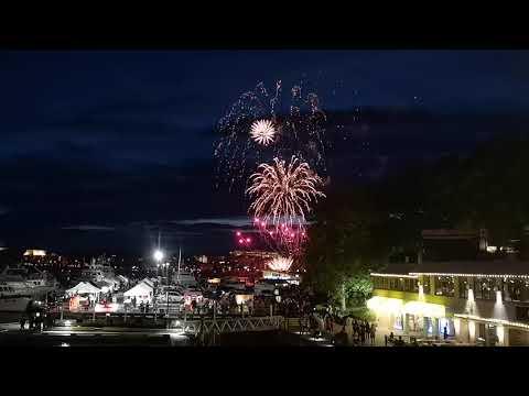 Fireworks, Victoria BC, Canada Day 2019
