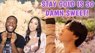 BTS (방탄소년단) 'Stay Gold' Official MV |REACTION!