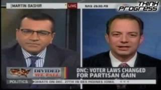 RNC Chair Lies About Voter Fraud