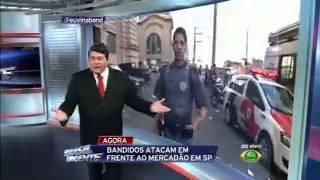 Brasil urgente 09/06/2015, Datena verso PM