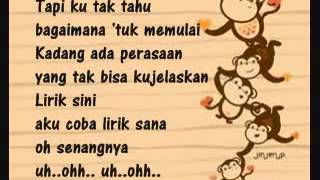 Cinta Monyet Goliath Band Lyrics