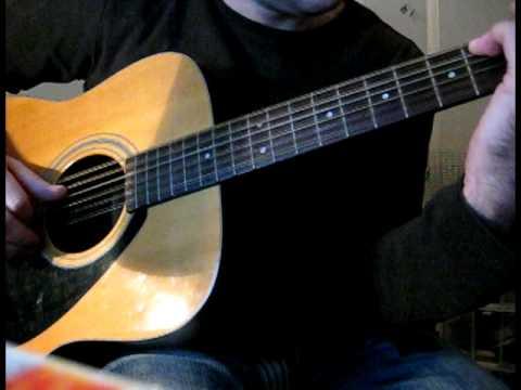 Acoustic 12 string guitar folk