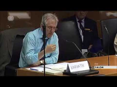 Ferdinand Karnath beim Wahlausschuss - Lügen haben kurze Beine.