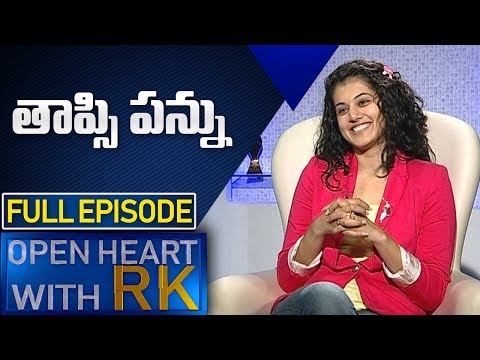 Taapsee Pannu | Open Heart With RK | Full Episodes | ABN Telugu