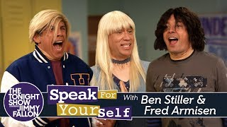 connectYoutube - Speak for Yourself with Ben Stiller and Fred Armisen