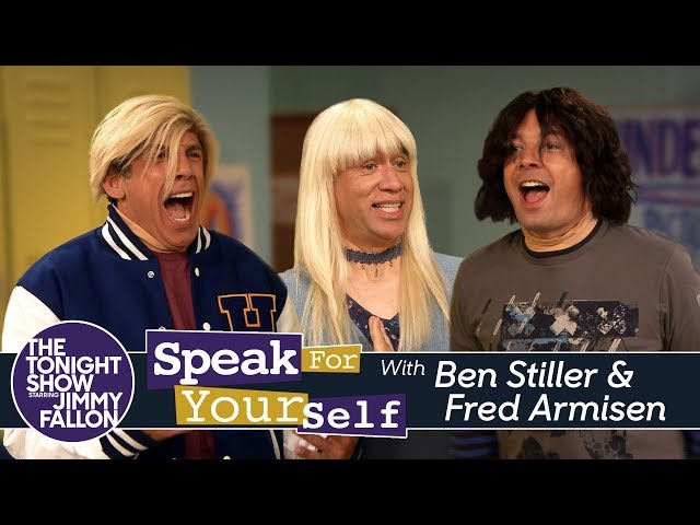 Speak for Yourself with Ben Stiller and Fred Armisen