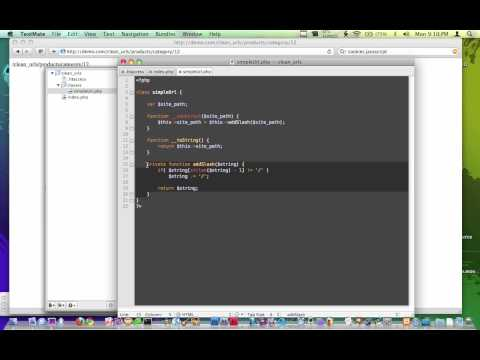 Creating Clean URLS using PHP