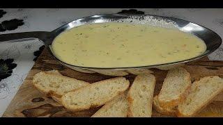 Сырное фондю  с 3-x сыров