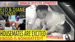 BBNaija 2019 LIVE UPDATES | HOUSEMATES EXCITED ELO REPLACED VENITA WITH FRODD | ELO & DIANE IN LOVE?