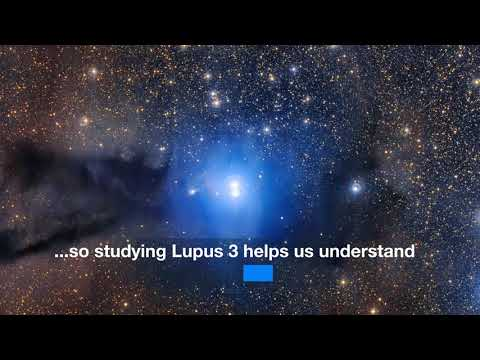 Stunning Blue Stars in Lupus 3 Dust Cloud - Best View Yet