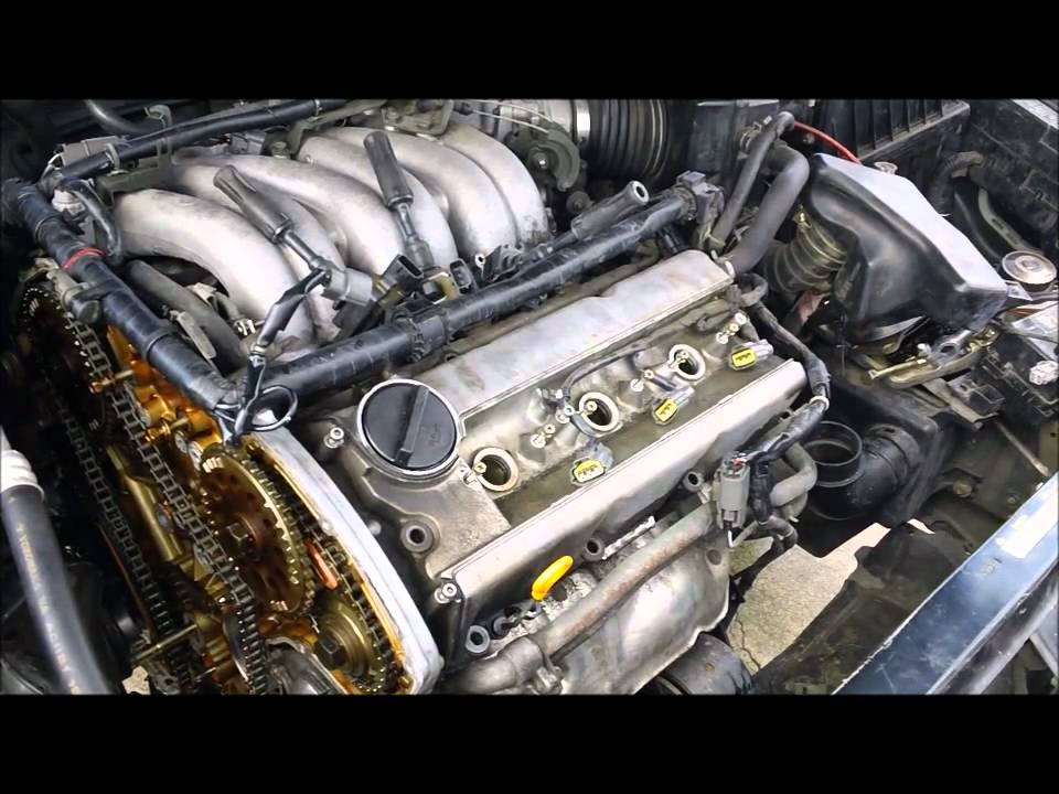 removing FRONT valvE cover - YouTube