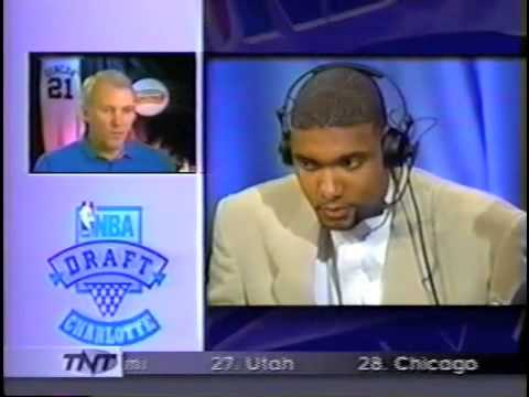1997 NBA Draft  Tim Duncan Interview