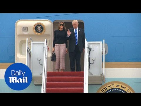 Off he goes! President Trump heads Europe for G20 summit - Daily Mail