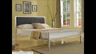 Home Life Iron Platform Bed With Slats Full � Complete Bed 5 Year Warranty Included
