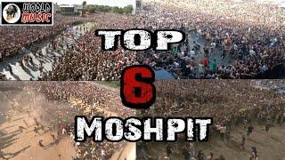 6 Kompilasi Mosh \/ Circle Pit Terbaik Di Dunia | World Music