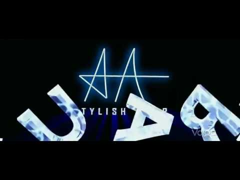 southindian stylishstar alluarjun logo youtube