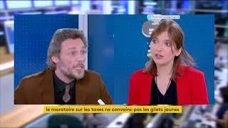 Débat Thierry Paul Valette, Aurore Bergé, Sujet Gilet Jaune.