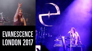 Evanescence Vlog -  Live in London [HD] 14/06/2017