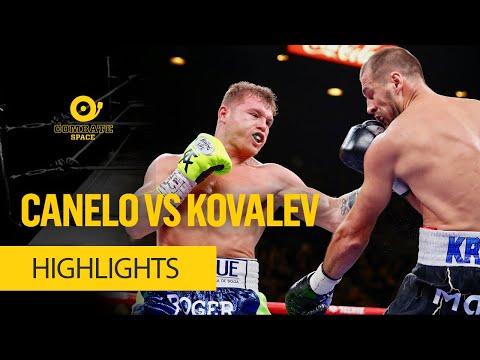 CANELO VS KOVALEV HIGHLIGHTS - COMBATE SPACE