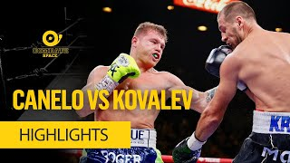 CANELO VS KOVALEV HIGHLIGHTS - COMBATE SPACE