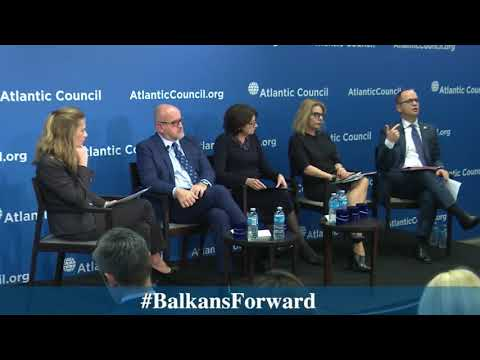 Minister Bushati at the Atlantic Council - Remarks and Q&A
