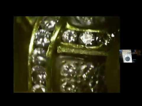Channel set diamond reset
