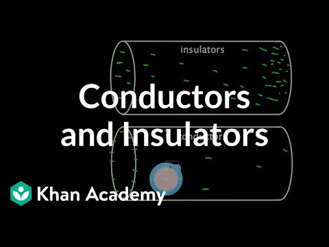 Conductors and Insulators | Physics | Khan Academy
