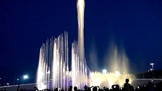 Адлер-Сочи. Олимпийский парк. Поющие фонтаны