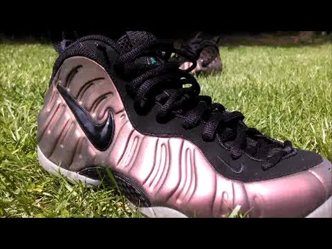 b547a7c371a Nike Air Foamposite Pro Gym Green On Feet - YouTube