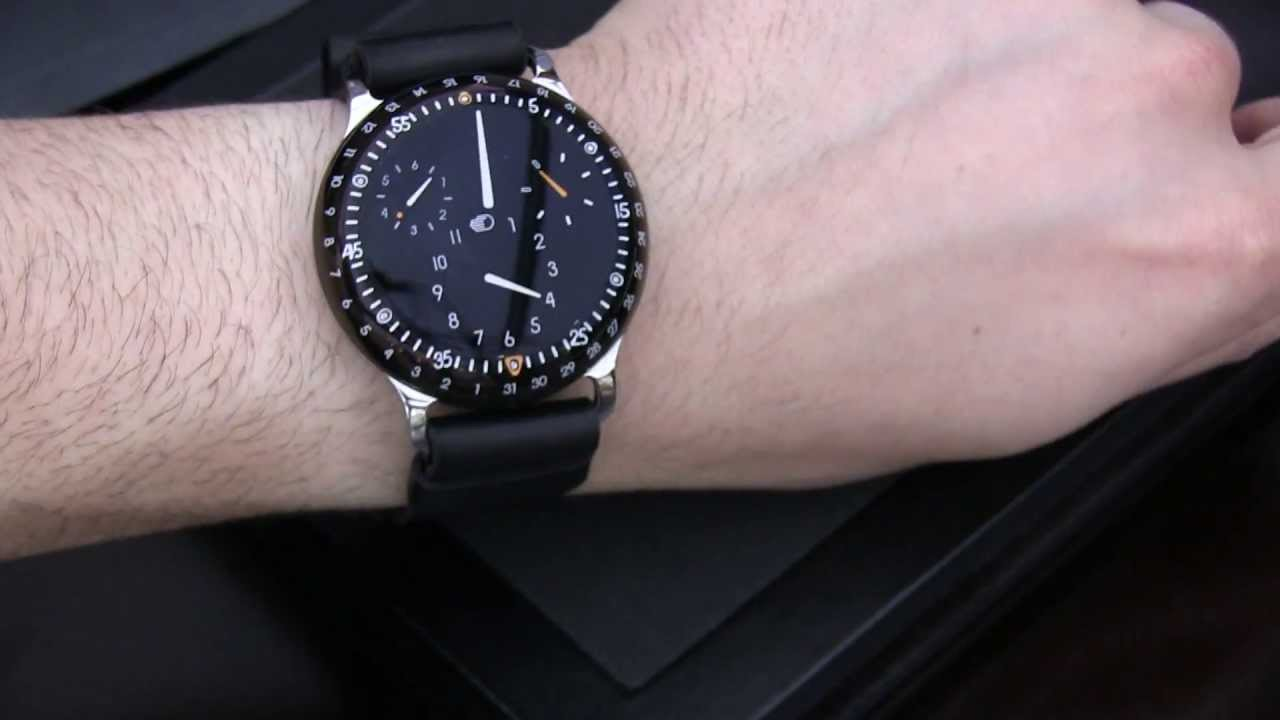 Ressence Type 3 >> Ressence Type 3 Liquid Filled Watch Hands On Youtube