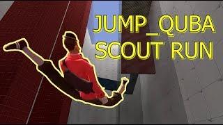 TF2: Jump QuBA Speedrun as a Scout using the Flying Bird Scout Exploit ►Team Fortress 2 Blue Moon◄