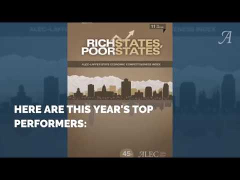 2018 State Economic Competitiveness Rankings Reveal Upward Standings tied to Federal Tax Reform