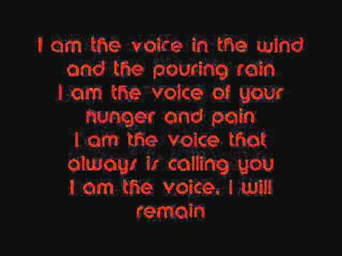 Celtic Women-I am the voice Lyrics