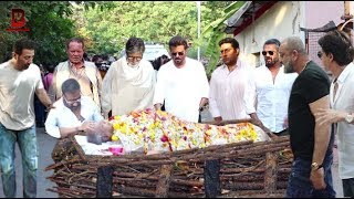 Bollywood Celebs Emotional In Ajay Devgn's Father Veeru Devgn Funeral | Amitabh, Sunny, Sanjay,Anil