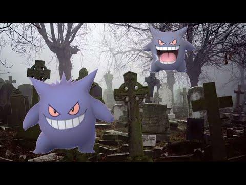 Pokemon go. В поисках призрачного шайни Генгара. 15 рейдов