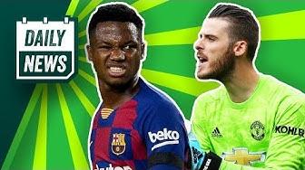 De Gea wird Bestverdiener der Premier League! Vertragsverlängerung bei Manchester United