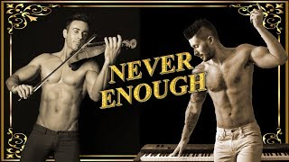 Never Enough - The Greatest Showman -  Shirtless Violinist - Cover