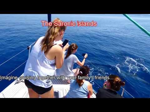 Sailing in the Saronic Islands Greece